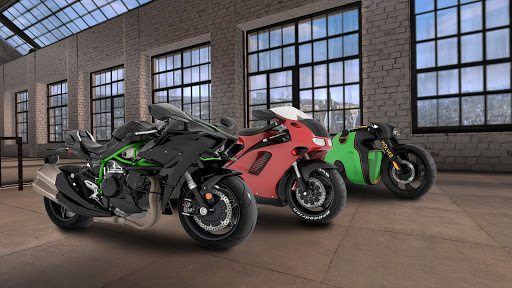 MotorBike: Traffic & Drag Racing I New Race Game modavailable screenshots 2