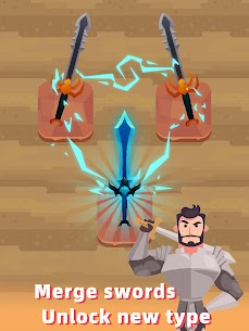 Merge Sword — Idle Blacksmith Master Mod Apk (Unlimited Gold) 1.3.5 6