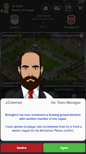 Club Soccer Director - Soccer Club Manager Sim screenshots 8