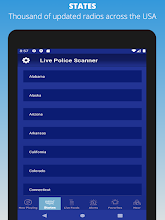 Live Police Scanner screenshot thumbnail