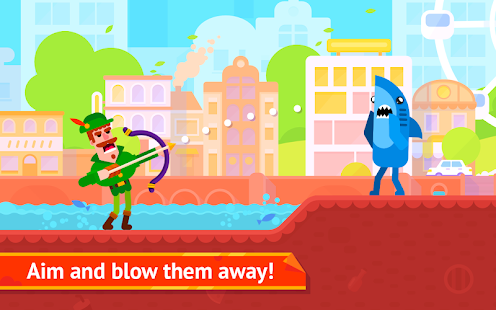 Bowmasters screenshots apk mod 1