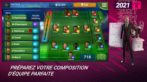 Pro 11 - Football Manager Game  APK MOD (Astuce) screenshots 1