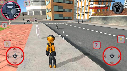 Stickman Rope Climbing Vegas Vice Hero Simulator 1.8.0 Mod Apk [Newest Version] 1