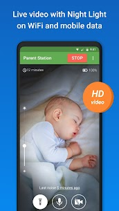 Baby Monitor 3G – Video Nanny & Camera [MOD, Paid] For Android 3