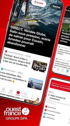 Ouest-France, l'actu de la commune au monde 4.6.0 screenshots 1
