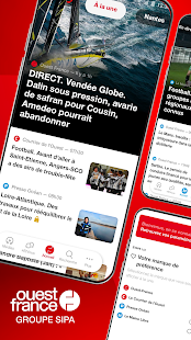 Ouest-France, lu2019actu de la commune au monde 4.6.1 Screenshots 1
