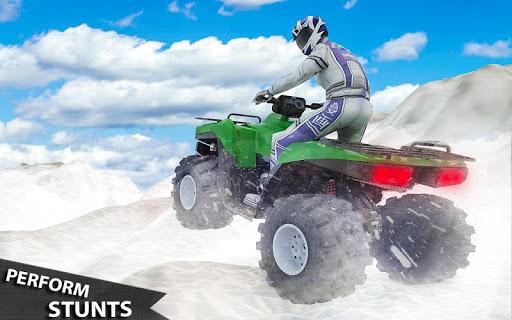 ATV Quad Derby Racing: Snow Trials Bike Xtreme  screenshots 4