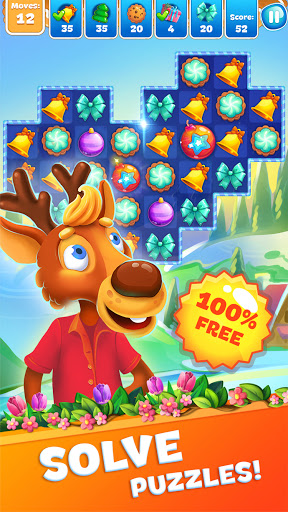 Christmas Sweeper 3 - Puzzle Match-3 Game android2mod screenshots 2