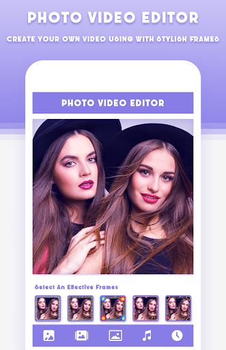 Photo Video Editor With Music screenshots 2