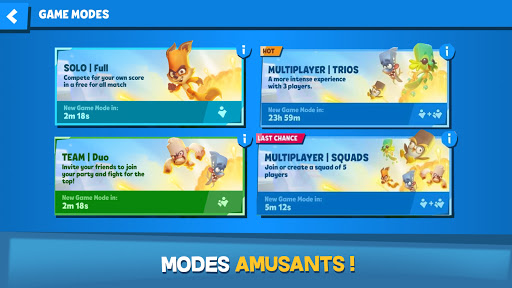 Code Triche Zooba: Bataille multi-joueurs en ligne (Astuce) APK MOD screenshots 3
