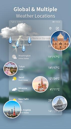 Weather Forecast - Live Weather Alert & Widget 1.13 Screenshots 7