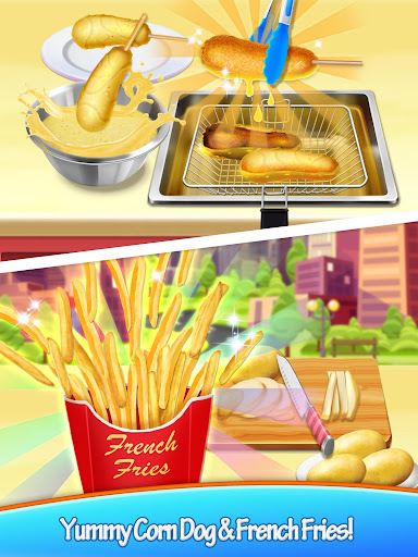 Carnival Fair Food - Crazy Yummy Foods Galaxy  screenshots 6