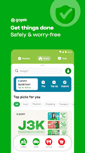 Gojek - Ojek Taxi Booking, Delivery and Payment Screenshot
