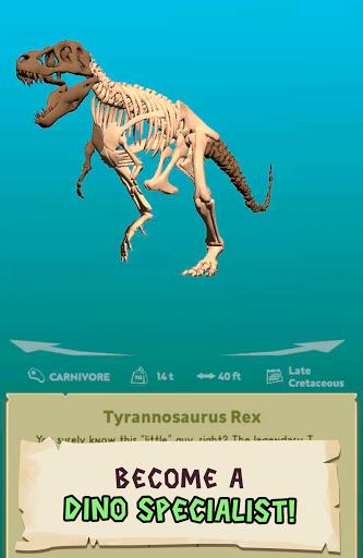 Dino Quest 2: Jurassic bones in 3D Dinosaur World apkpoly screenshots 13