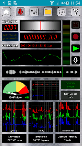 EVP Recorder - Spotted: Ghosts screenshots 1