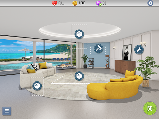 Home Makeover : My Perfect House apkslow screenshots 12