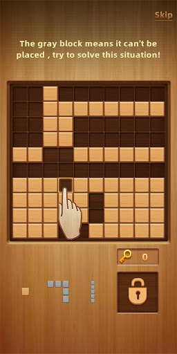 Wood Block Puzzle - New Block Puzzle Blast Game  screenshots 3