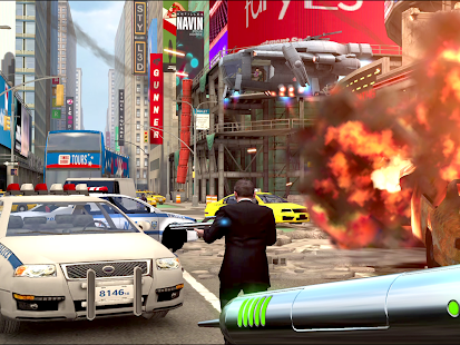 Men in Black: Galaxy Defenders Screenshot