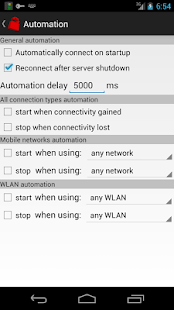 Your Freedom VPN Client 20210618-01 Screenshots 5