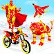 Snow Mountain Moto Bike Robot Bike Games