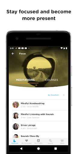The Mindfulness App: relax, calm, focus and sleep screenshots 8