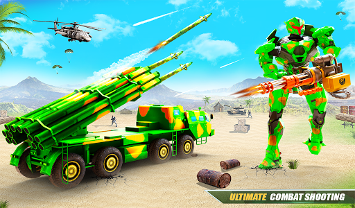 US Army Robot Missile Attack: Truck Robot Games 23 Screenshots 17