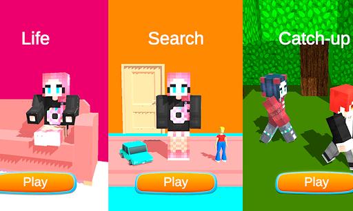 Pink Princess House Craft Game  screenshots 1
