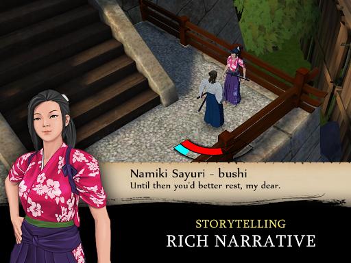 Bushido Saga - Nightmare of the Samurai apkpoly screenshots 12