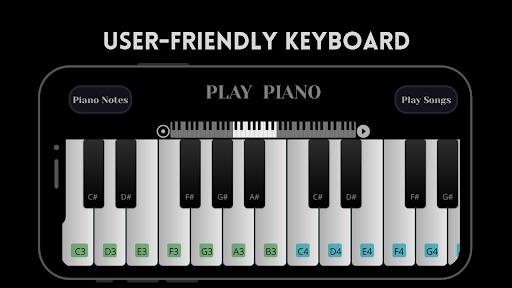 Play Piano: Melodies | Piano Notes | Keyboard  screenshots 2