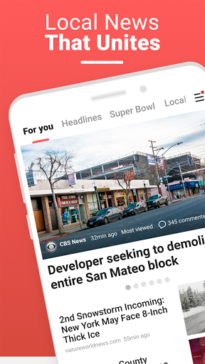 NewsBreak: Local News that Connects the Community android2mod screenshots 1