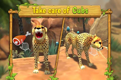 Cheetah Family Sim - Animal Simulator apktram screenshots 4