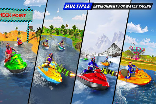 Jet Ski Racing Games: Jetski Shooting - Boat Games 1.0.16 Screenshots 12