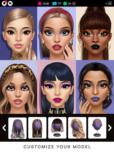 GLAMM'D - Style & Fashion Dress Up Game apktram screenshots 17