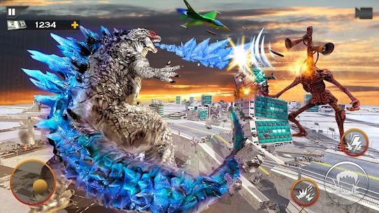 Monster Smash City – Godzilla vs Siren Head MOD APK 1.0.4 (Unlimited Money) 7