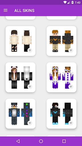 pvp skins for minecraft pe screenshot 1