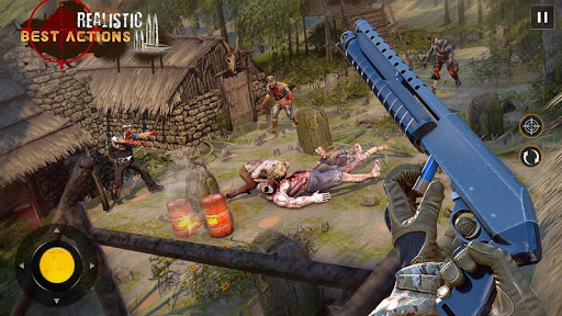 Free Games Zombie Force: New Shooting Games 2021 1.5 screenshots 4