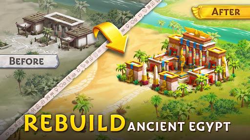 Pyramid of Mahjong: A tile matching city puzzle screenshots 12