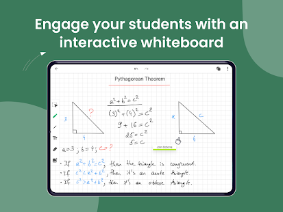 LiveBoard Interactive Whiteboard App Screenshot