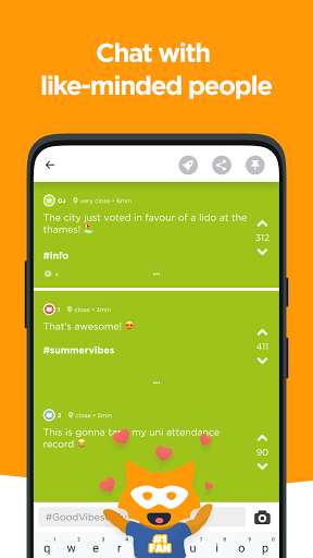 Jodel - Local Student Community 5.109.3 Screenshots 5