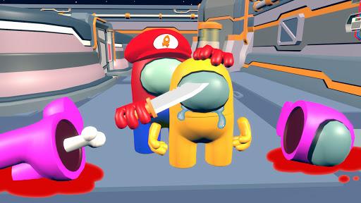 Dark imposter Attack - Crewmate kill screenshots 11