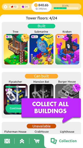 TapTower - Idle Building Game 1.27 screenshots 3