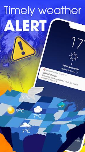 Weather forecast - Weather & Weather radar  screenshots 5