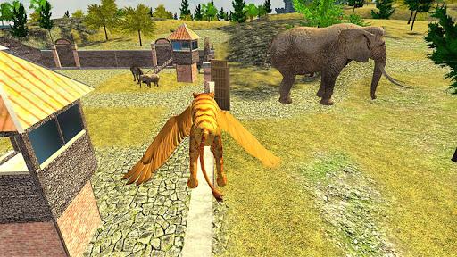 Angry Flying Lion Simulator 2021 screenshots 3