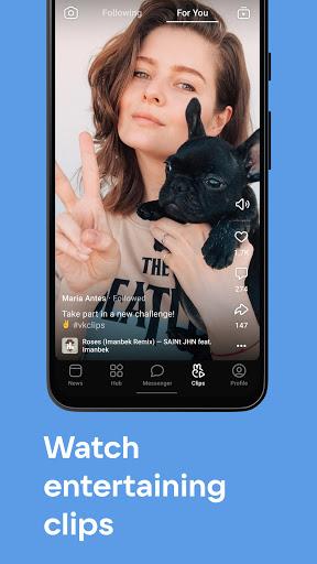 VK u2014 live chatting & free calls android2mod screenshots 3