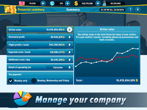 Airlines Manager - Tycoon 2020 3.03.3303 screenshots 5