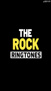 the rock ringtones free The rock ringtone 1.2 Mod + Data for Android 1