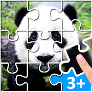 Puzzle Kids Animals & Car. Free jigsaw game!