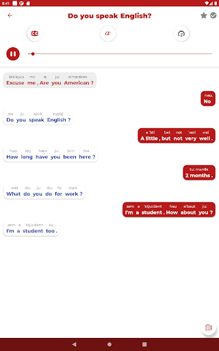 Learn English - Listening and Speaking modavailable screenshots 12