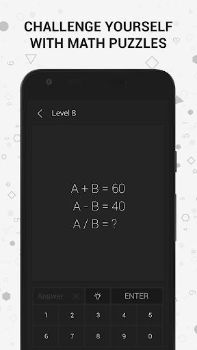 Math | Riddles and Puzzles Maths Games 1.22 Screenshots 1