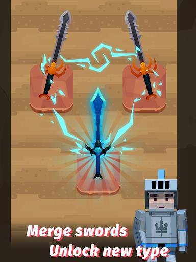 Merge Sword - Idle Blacksmith Master 1.4.4 screenshots 6